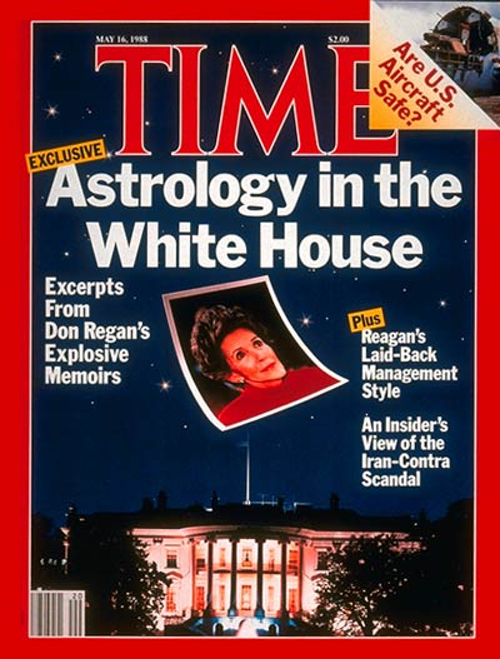 Time Magazine cover featuring the astrology story.