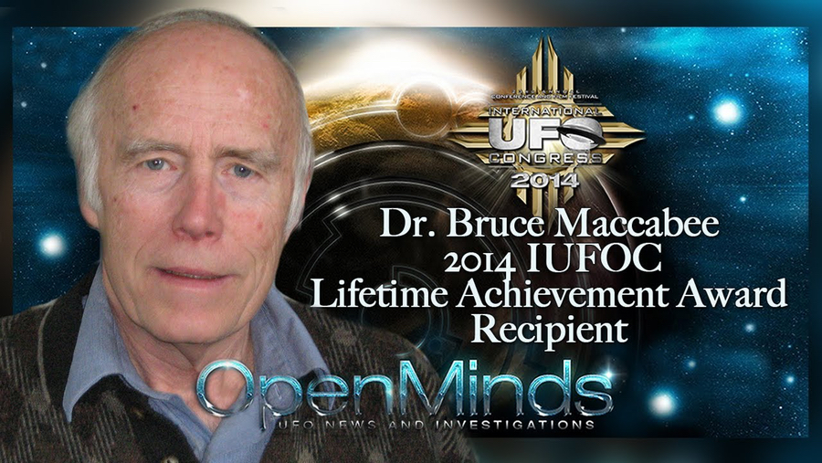 Dr. Bruce Maccabee, lifetime achiever and fine piano player.