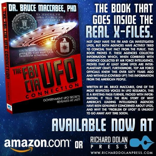 Cover of UFO-FBI Connection.