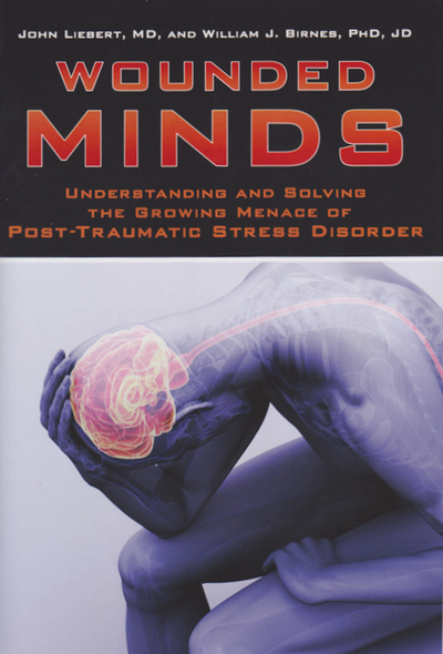 Cover of Wounded Minds.