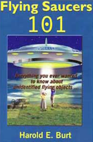 Cover of Flying Saucers 101.