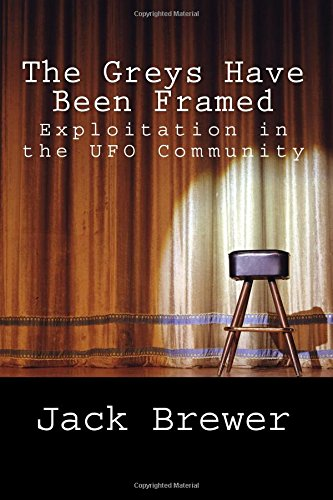The cover of Jack Brewer's new book, The Greys Have Been Framed.