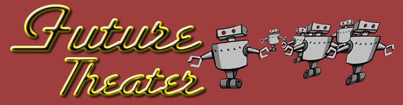 Future Theater logo, with robots.