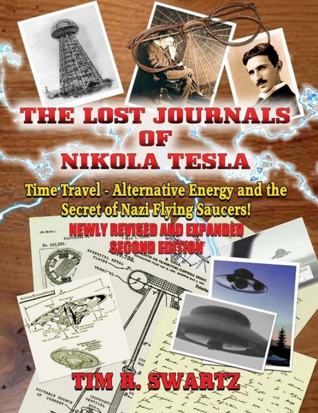 Cover of the Lost Journals of Nikola Tesla.