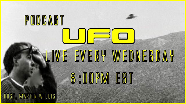 A photo from Martin Willis's Podcast UFO.