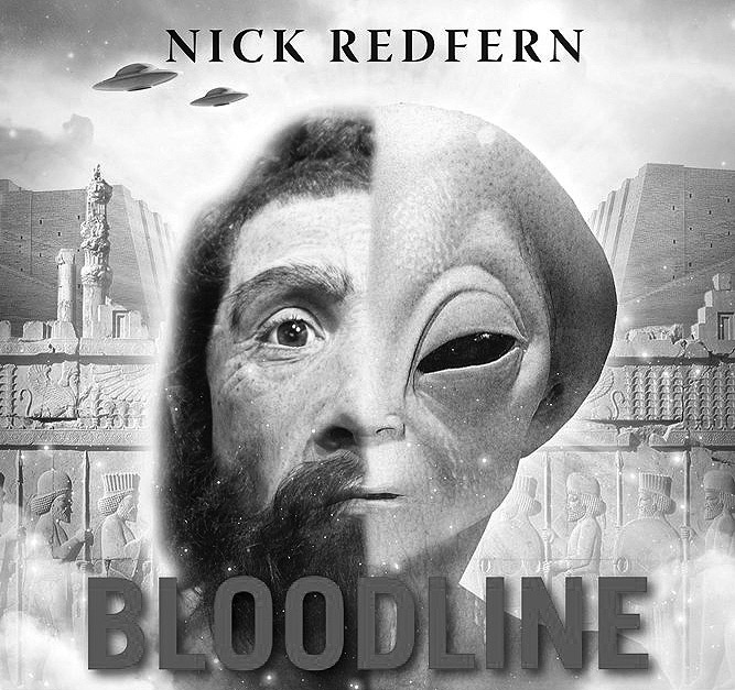 A black and white version of the cover of Nick's new book.