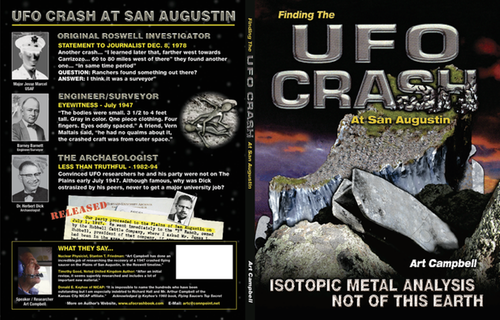 Cover of UFO Crash at San Augustin.
