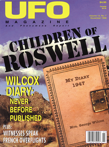 Cover of UFO Magazine, Children of Roswell Edition.
